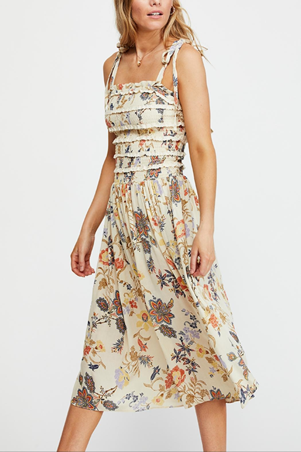 Free People Isla Midi Dress - Front Cropped Image