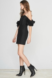Isla the Label Black Juliet Dress - Front full body