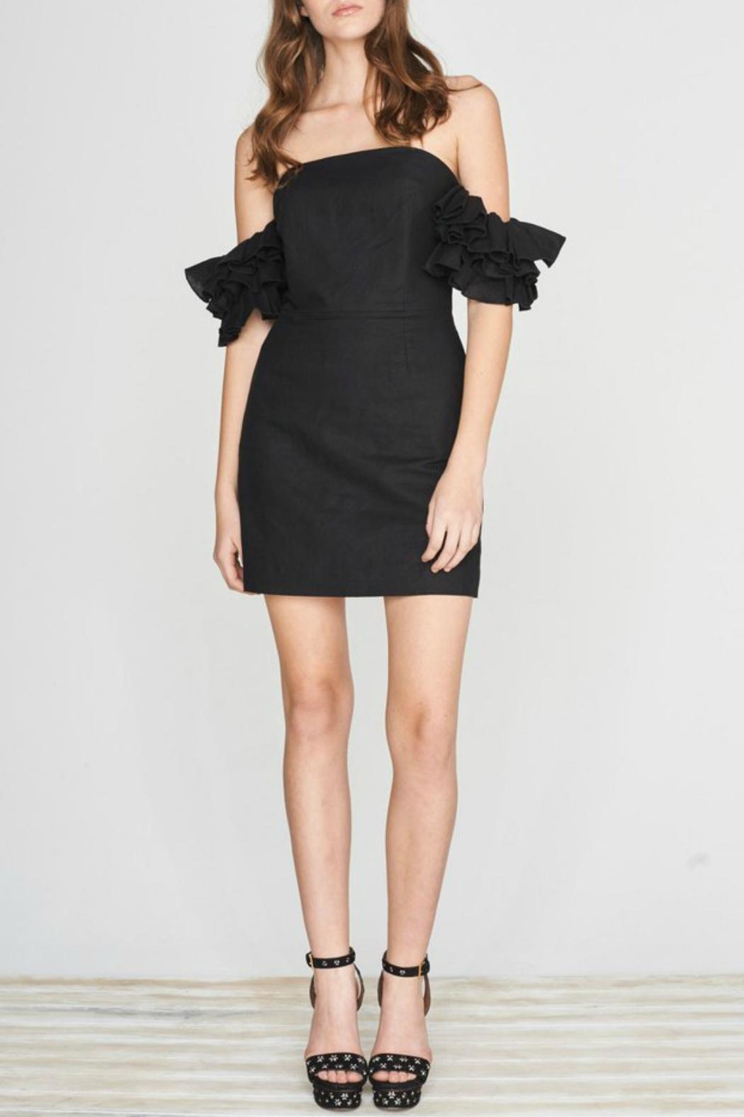 Isla the Label Black Juliet Dress - Front Cropped Image
