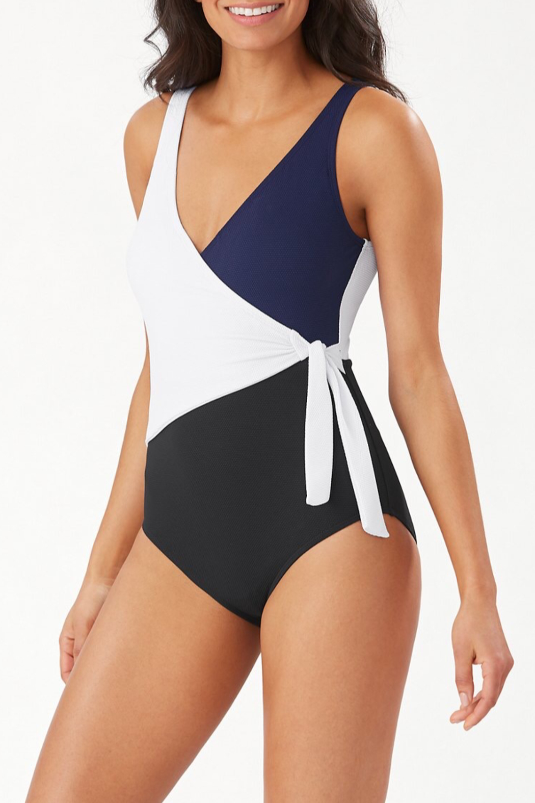 Tommy Bahama Island Cays Swimsuit - Front Cropped Image