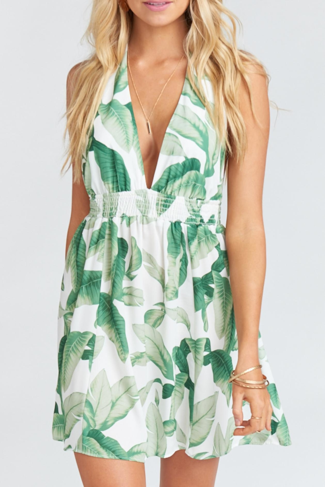 Show Me Your Mumu Island Mini Dress - Front Cropped Image