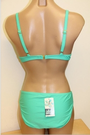 Island Escape Solid Shaper Bikini - Front full body
