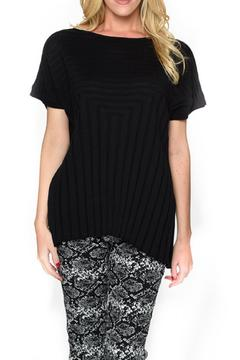 Isle Apparel Knit Short Sleeve Top - Alternate List Image