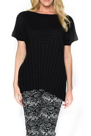 Isle Apparel Knit Short Sleeve Top - Product Mini Image
