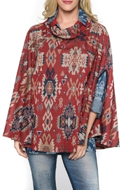 Isle Apparel Poncho - Front cropped