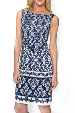 Isle Apparel Printed Sleeveless Dress - Alternate List Image
