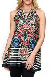 Isle Apparel Sleeveless Tunic - Front cropped