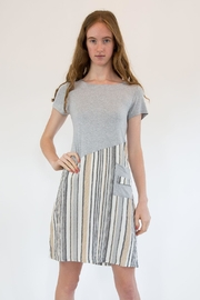 Isle Apparel Stripe T-Shirt Dress - Product Mini Image