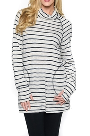 Isle Apparel Stripe Tunic - Front cropped