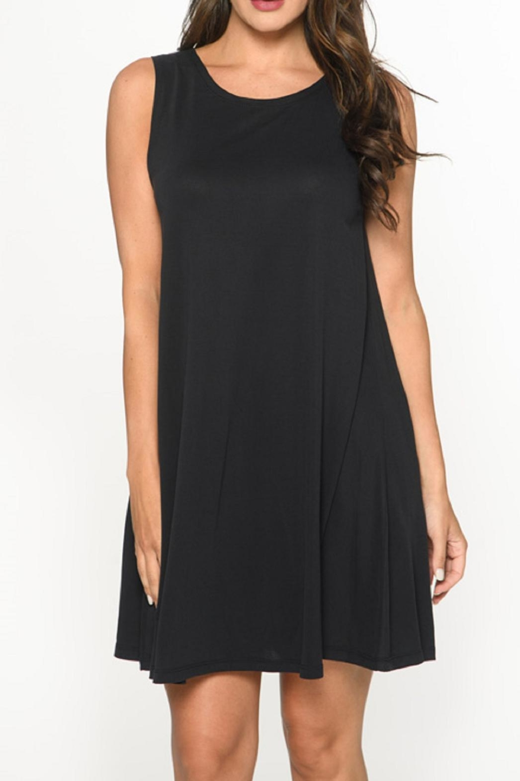 Isle Apparel Swing Tank Dress - Main Image