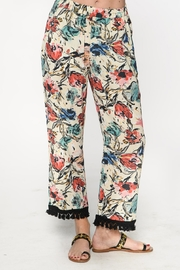 Isle Apparel Tassle Ankle Pant - Front cropped