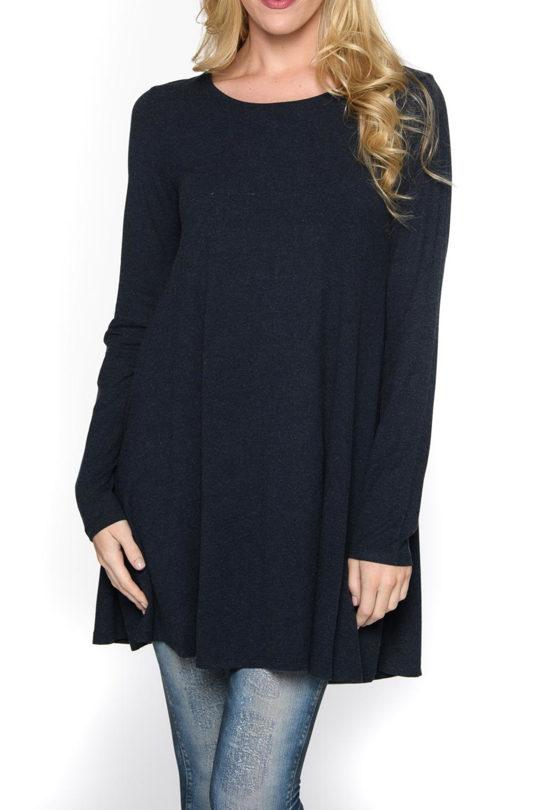 Isle Apparel Tunic/dress - Front Cropped Image