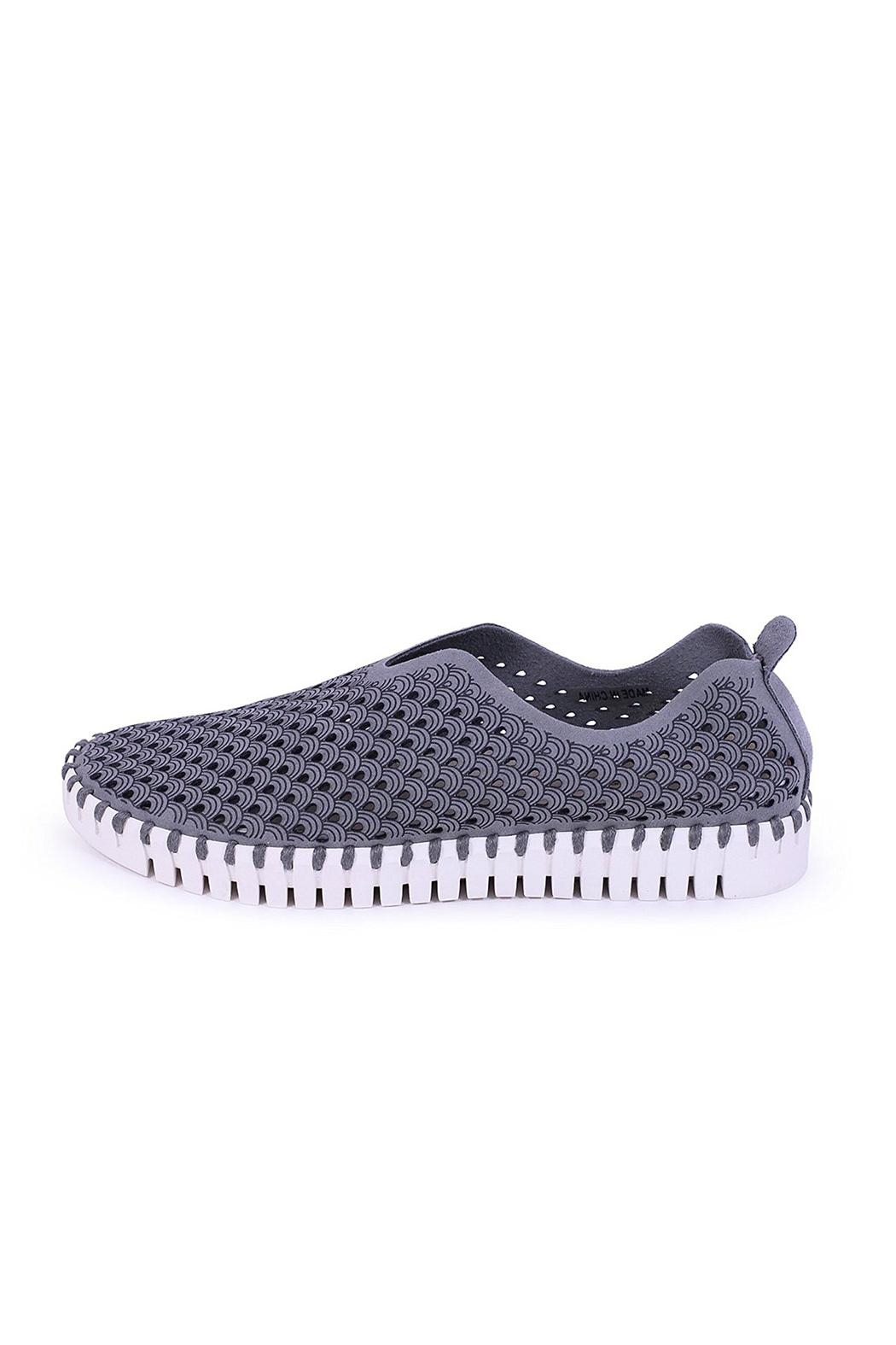 Isle Jacobsen Tulip Slip-Ons - Front Cropped Image