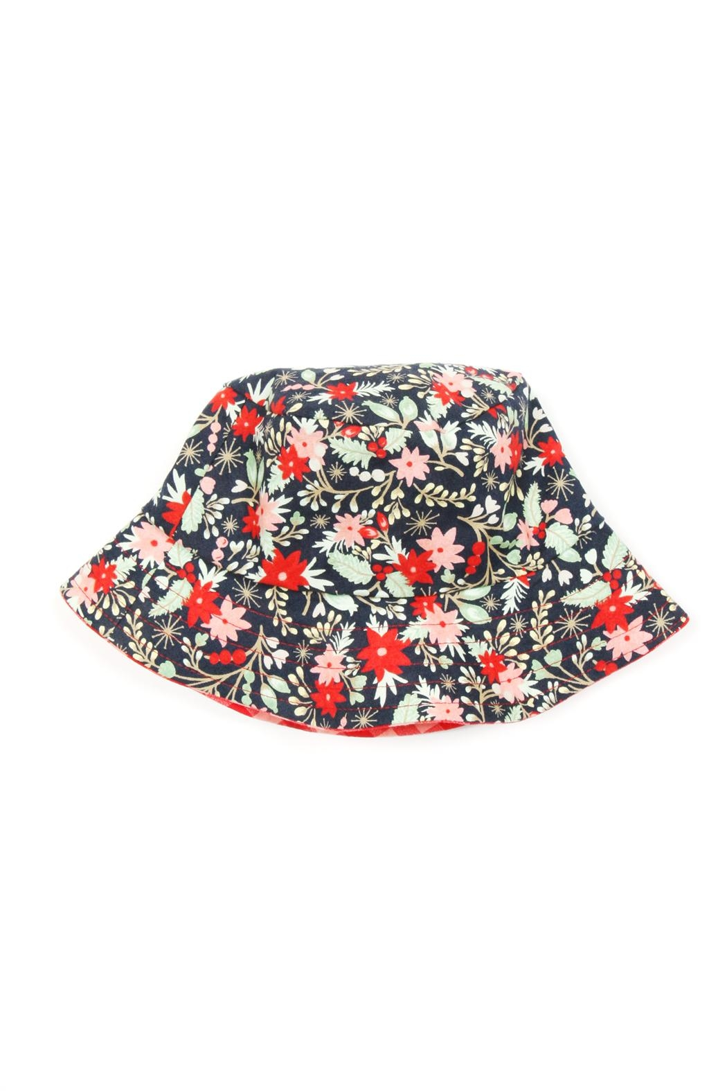 Isola Handmade Reversible Bucket Hats - Front Cropped Image