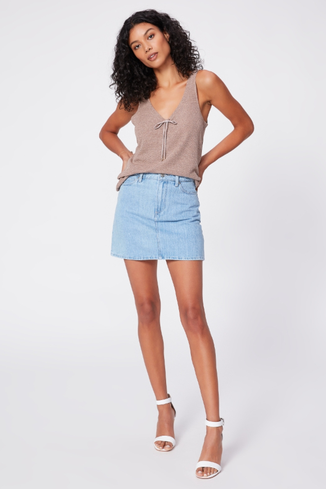 Paige Denim Issey Tank - Front Full Image