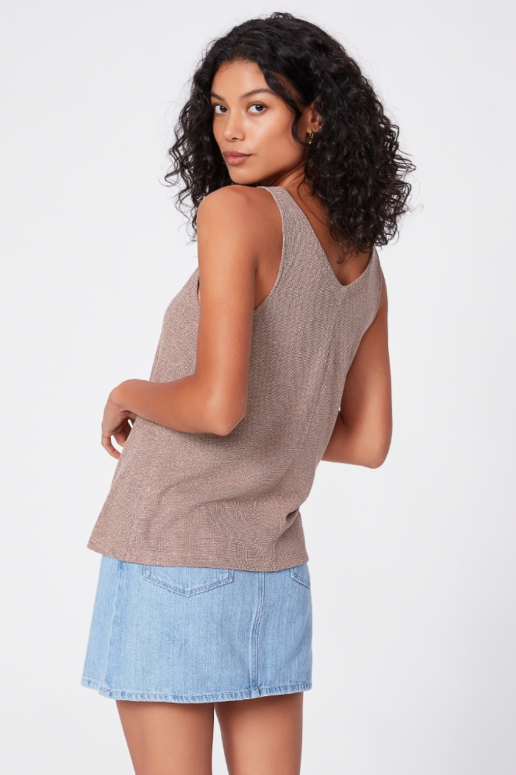 Paige Denim Issey Tank - Side Cropped Image