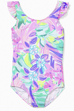 Lilly Pulitzer Girls Issie Swimsuit UPF 50+ - Product List Image