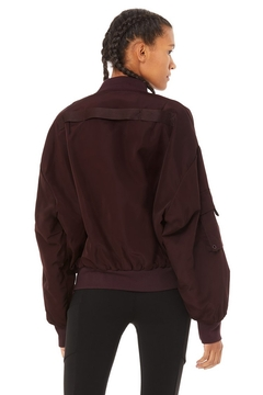 Alo Yoga  It Girl Bomber - Alternate List Image