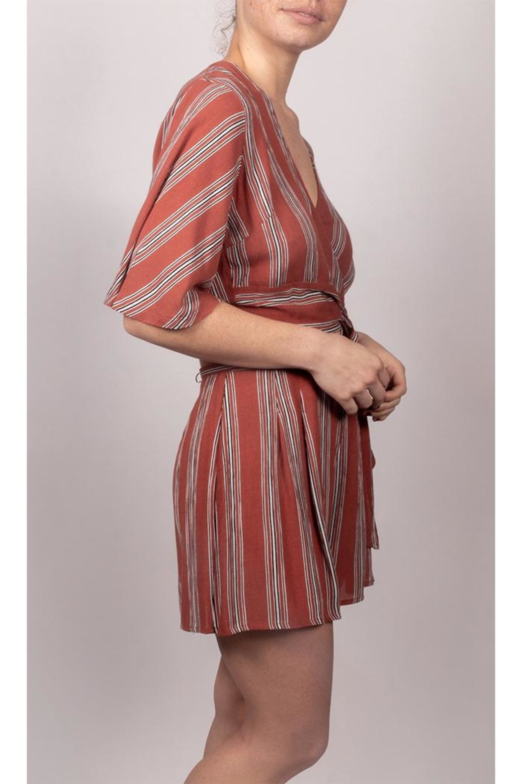 AAKAA It-Girl Striped Set - Front Full Image