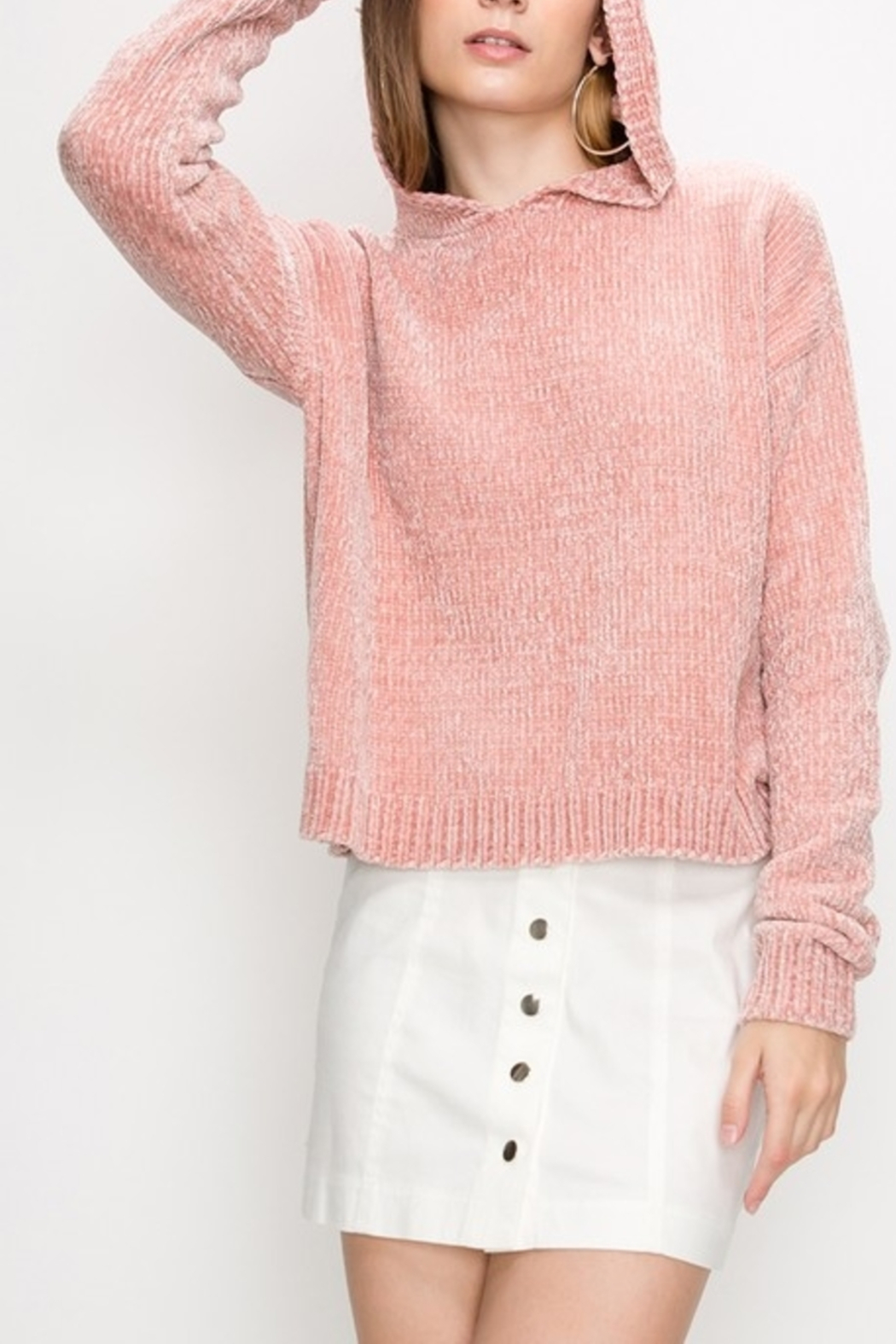 HYFVE It's A Hoodie Thing sweater - Front Cropped Image