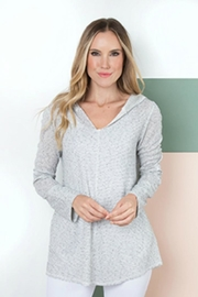 Simply Noelle It's-All-Good Hooded Top - Product Mini Image