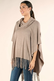 Lovestitch IT'S ALL THAT PONCHO - Back cropped