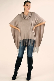 Lovestitch IT'S ALL THAT PONCHO - Side cropped