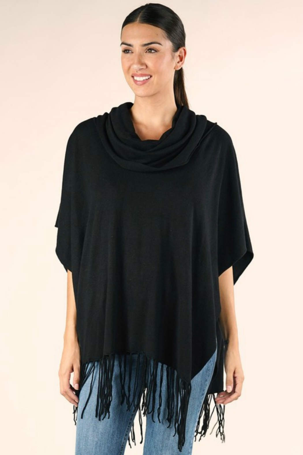 Lovestitch IT'S ALL THAT PONCHO - Front Full Image