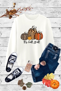 Caramelo Trend It's Fall Y 'all Plus Size - Alternate List Image