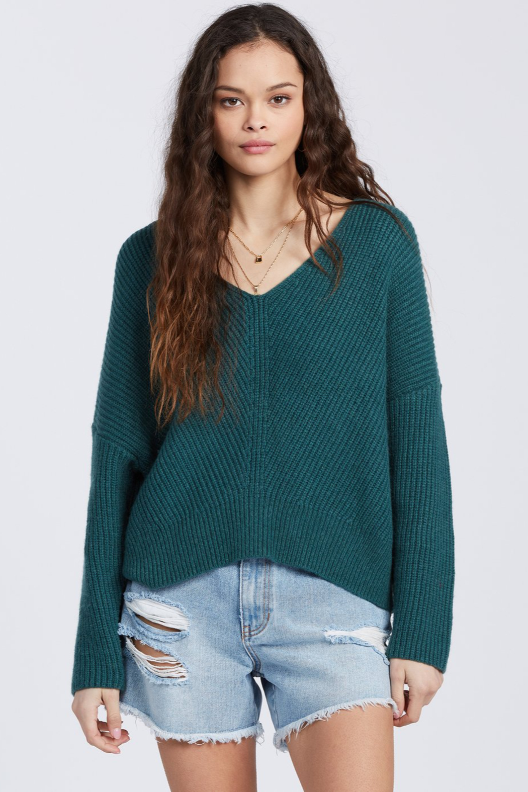 Billabong It's Me Sweater - Front Cropped Image