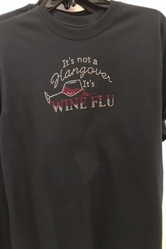 Gildan It's Wine Flu - Alternate List Image
