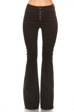 Shoptiques Product: Button Flare Jeans