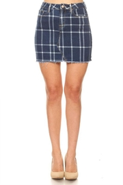 it's me Check Mini Skirt - Product Mini Image