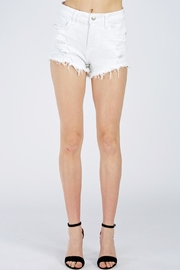 it's me Fringe Denim Shorts - Product Mini Image