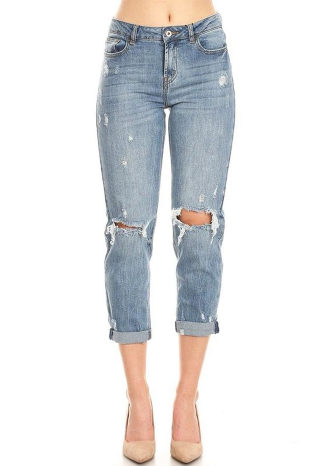 it's me High-Rise Boyfriend Jeans - Main Image
