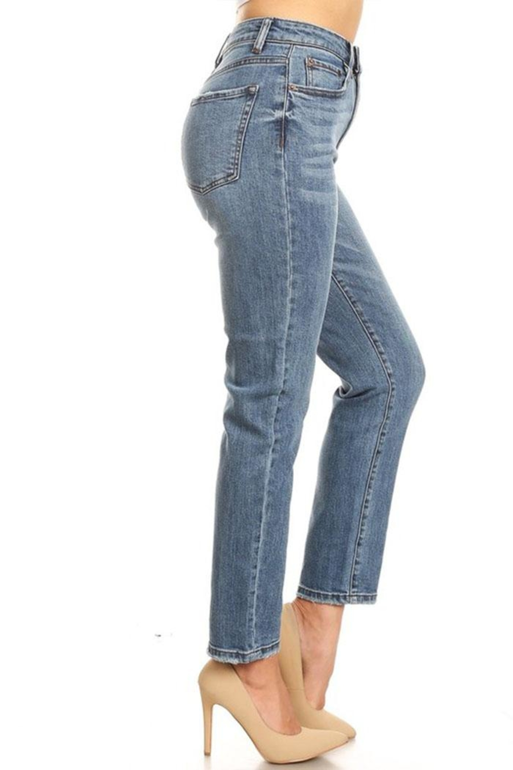 it's me High-Rise Mom Jean - Front Full Image