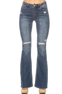 Shoptiques Product: Ripped Flare Jeans