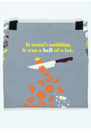 Blue Q Apron It Was Nothing - Front full body