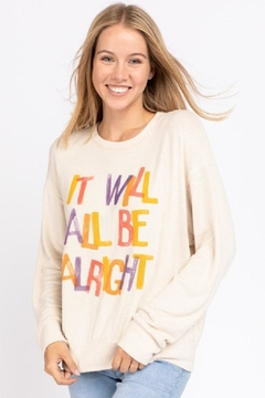 Shoptiques Product: It Will Be-Alright