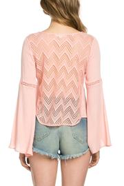 It Girl Bell Sleeve Top - Side cropped