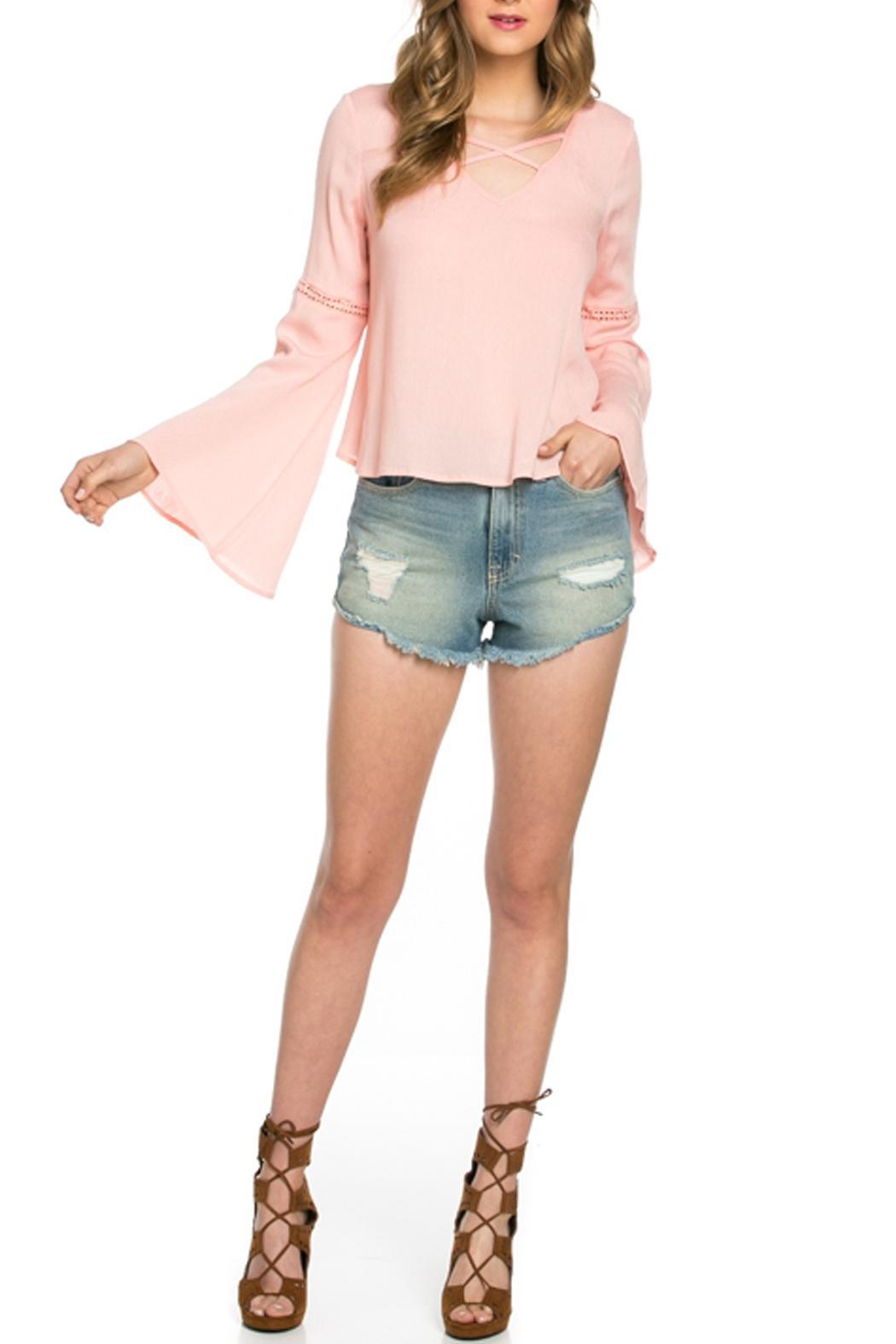 It Girl Bell Sleeve Top - Main Image