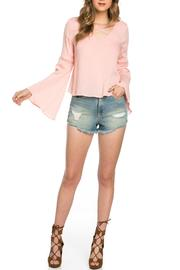 It Girl Bell Sleeve Top - Product Mini Image
