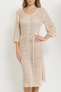 It Girl Crochet Cover Up Dress - Product List Image
