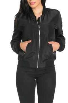 It Girl Long Sleeve Bomber Jacket - Product List Image
