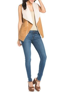It Girl Suede Fur Vest - Alternate List Image