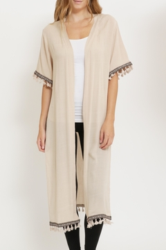 It Girl Tribal Tassel Cardigan - Product List Image