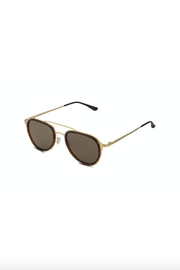 Italia Independent Gold Italia Aviators - Front full body