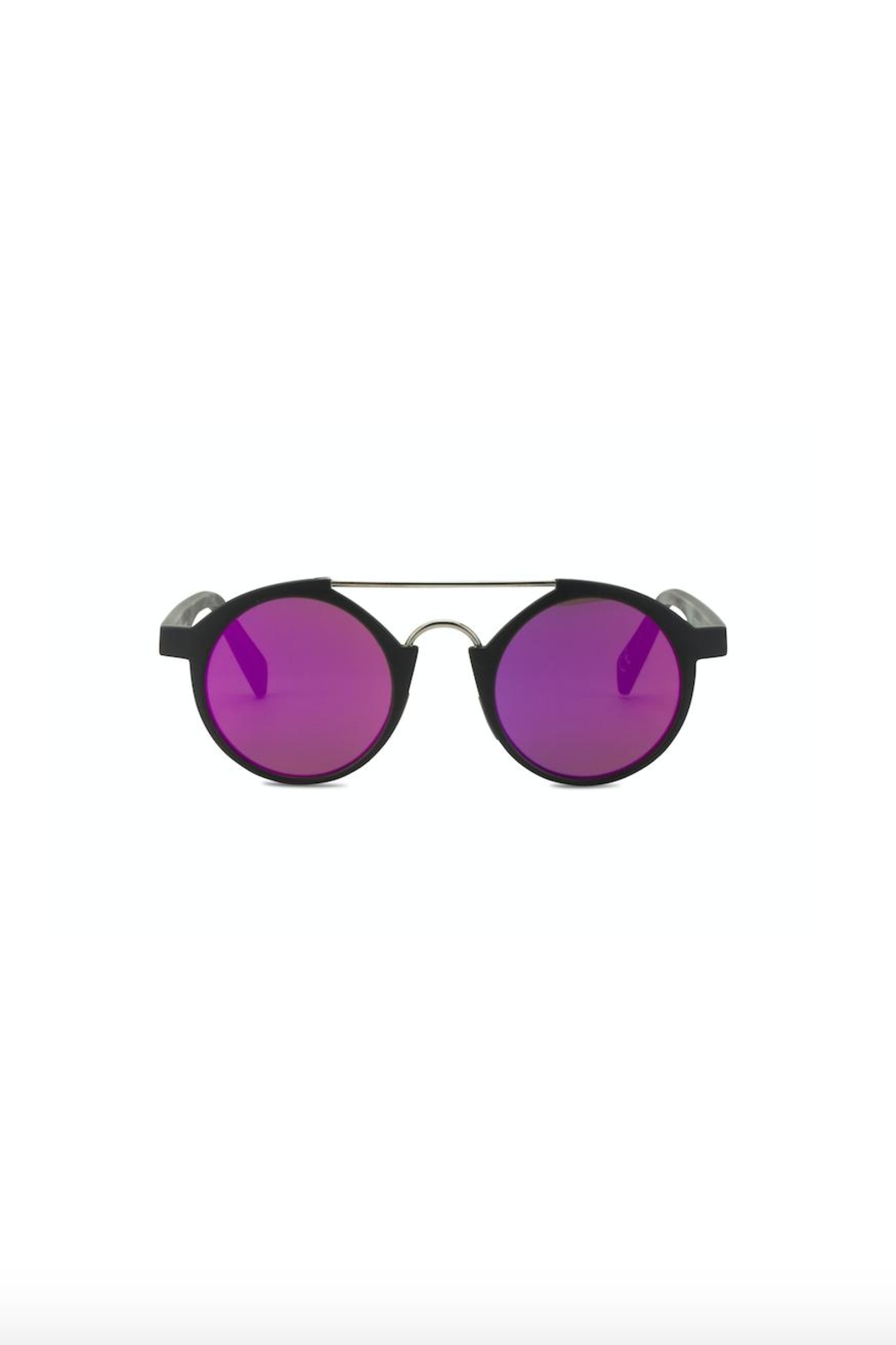 Italia Independent Italia-Independent Round Sunglasses - Front Cropped Image