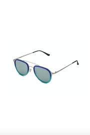 Italia Independent Italia-Independent Silver Aviators - Side cropped