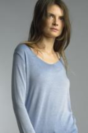 Tempo Paris  Italian Long Sleeve Knit Top - Product Mini Image